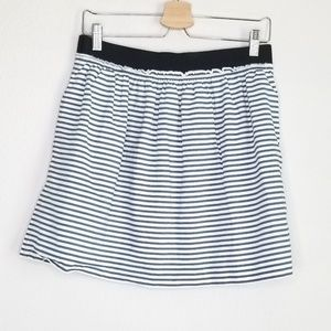 J. Crew factory cotton stripe skirt M48